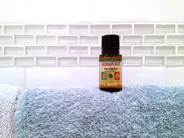 Feeling congested? Learn about how an essential oil + shower could be the trick to getting better!