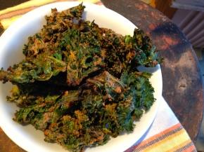kale chips, take 2